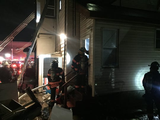 Yonkers firefighters enter building on 100 Locust Hill Ave., Yonkers