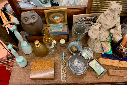 Down the Rabbit Hole is open 6 days a week from 10:30 a.m. to 5 p.m. Monday through Saturday offering an eclectic collection of wares.