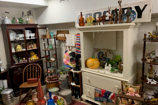 The Briar Patch at the Down the Rabbit Hole shop on 1509 Lamar features the vendor's grandmother's extensive antique collection for sale.