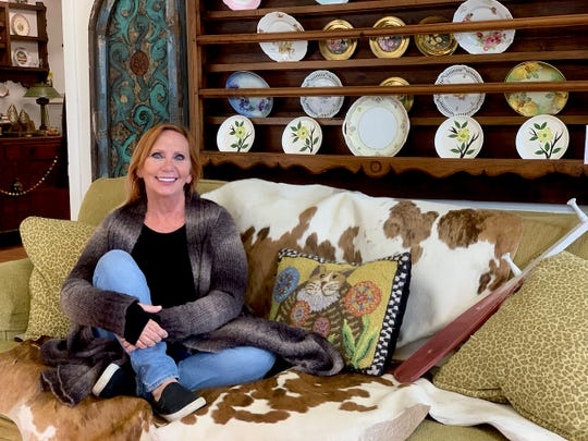 Phyllis McBride's new Down the Rabbit Hole location at 1509 Lamar is filled with an eclectic mix of antique furniture and vintage collectibles as well as a growing number of diverse vendors.