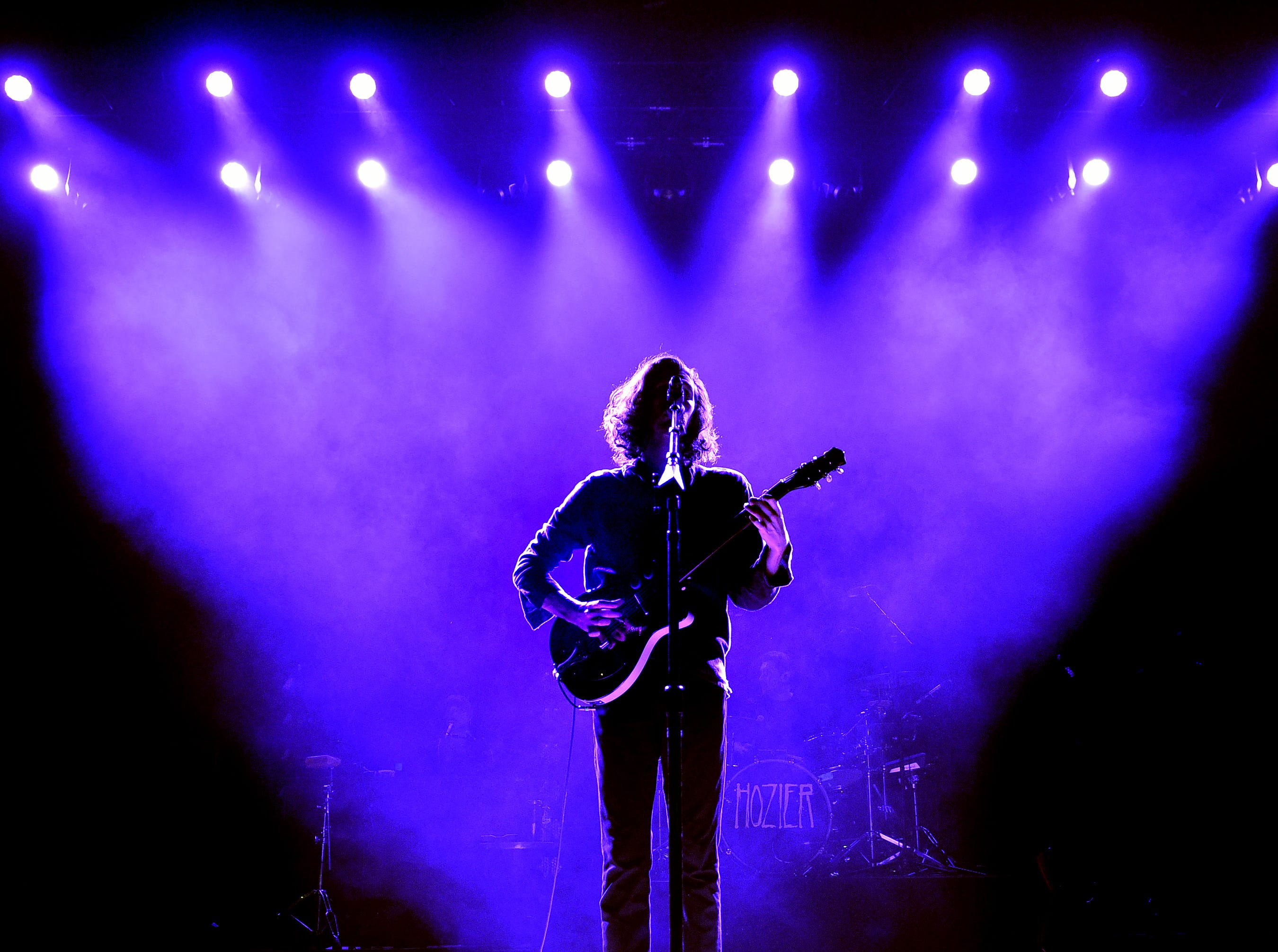 MANCHESTER, ENGLAND - DECEMBER 06: Hozier performs at O2 Apollo Manchester on December 06, 2018 in Manchester, England. (Photo by Shirlaine Forrest/WireImage) ORG XMIT: 775268012 ORIG FILE ID: 1078258130