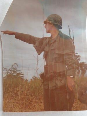 Tom Dombrowsky War Zone D, Vietnam. December 1971.