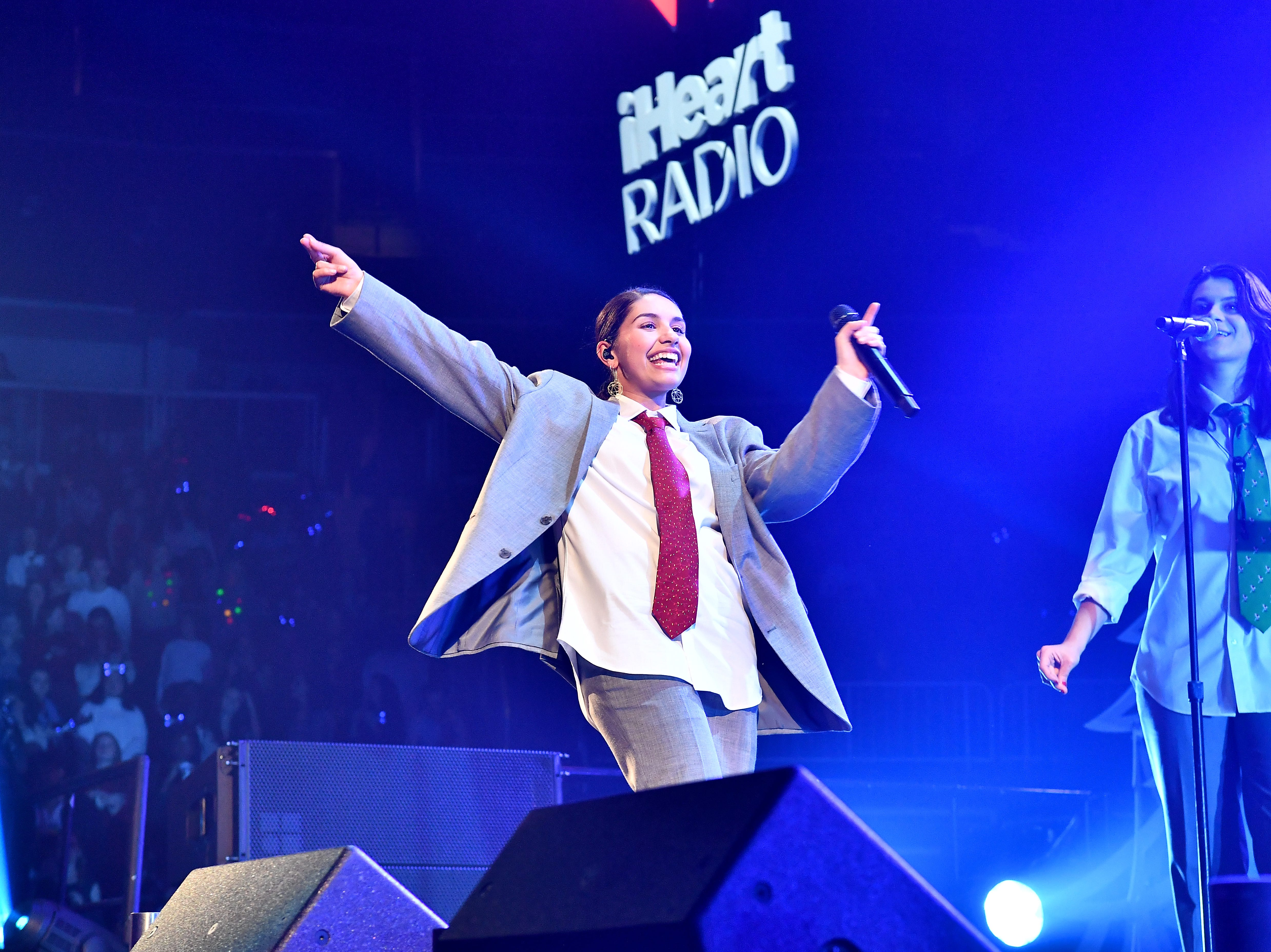 ATLANTA, GA - DECEMBER 14:  Recording artist Alessia Cara performs onstage during Power 96.1's Atlanta Jingle Ball  on December 14, 2018 in Atlanta, Georgia.  (Photo by Paras Griffin/Getty Images for iHeartMedia) ORG XMIT: 775251046 ORIG FILE ID: 1073353666