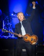 Paul McCartney performs in London in 2018.