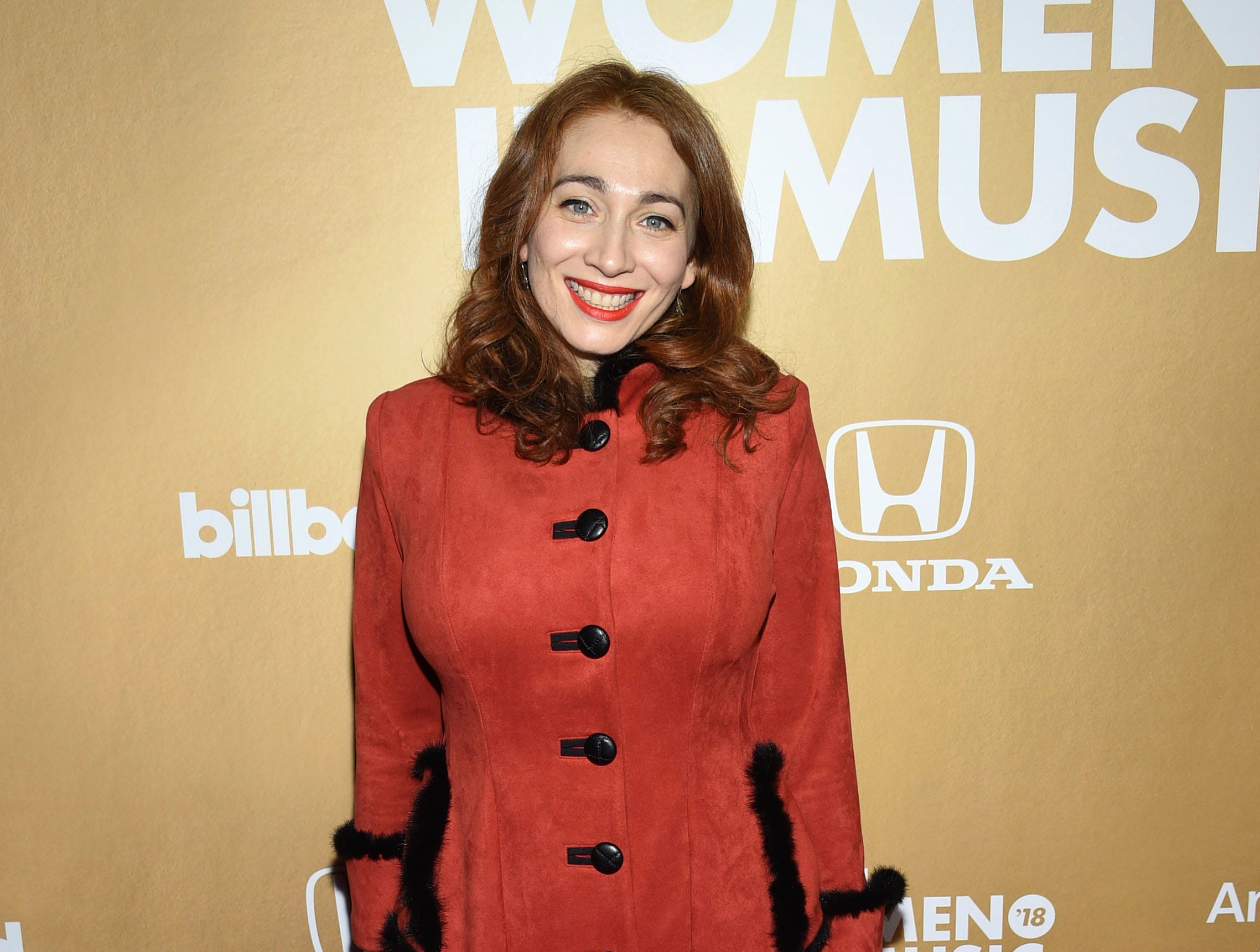 Regina Spektor attends the 13th annual Billboard Women in Music event at Pier 36 on Thursday, Dec. 6, 2018, in New York. (Photo by Evan Agostini/Invision/AP) ORG XMIT: CABR102