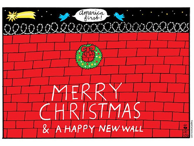 Happy New Wall