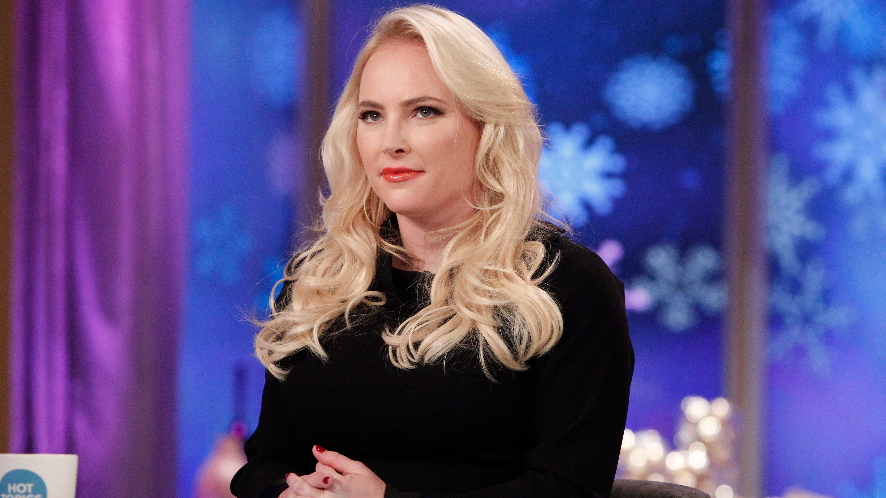 "Meghan McCain appears on ABC's ""The View."""