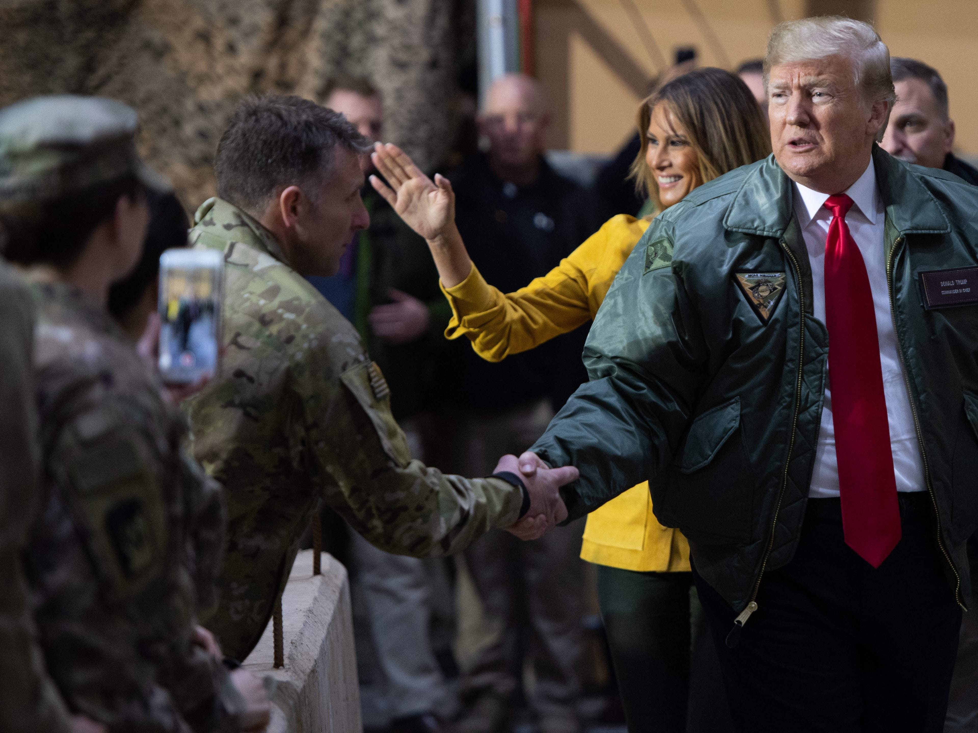Trump's visit to troops was as overdue as it was welcome