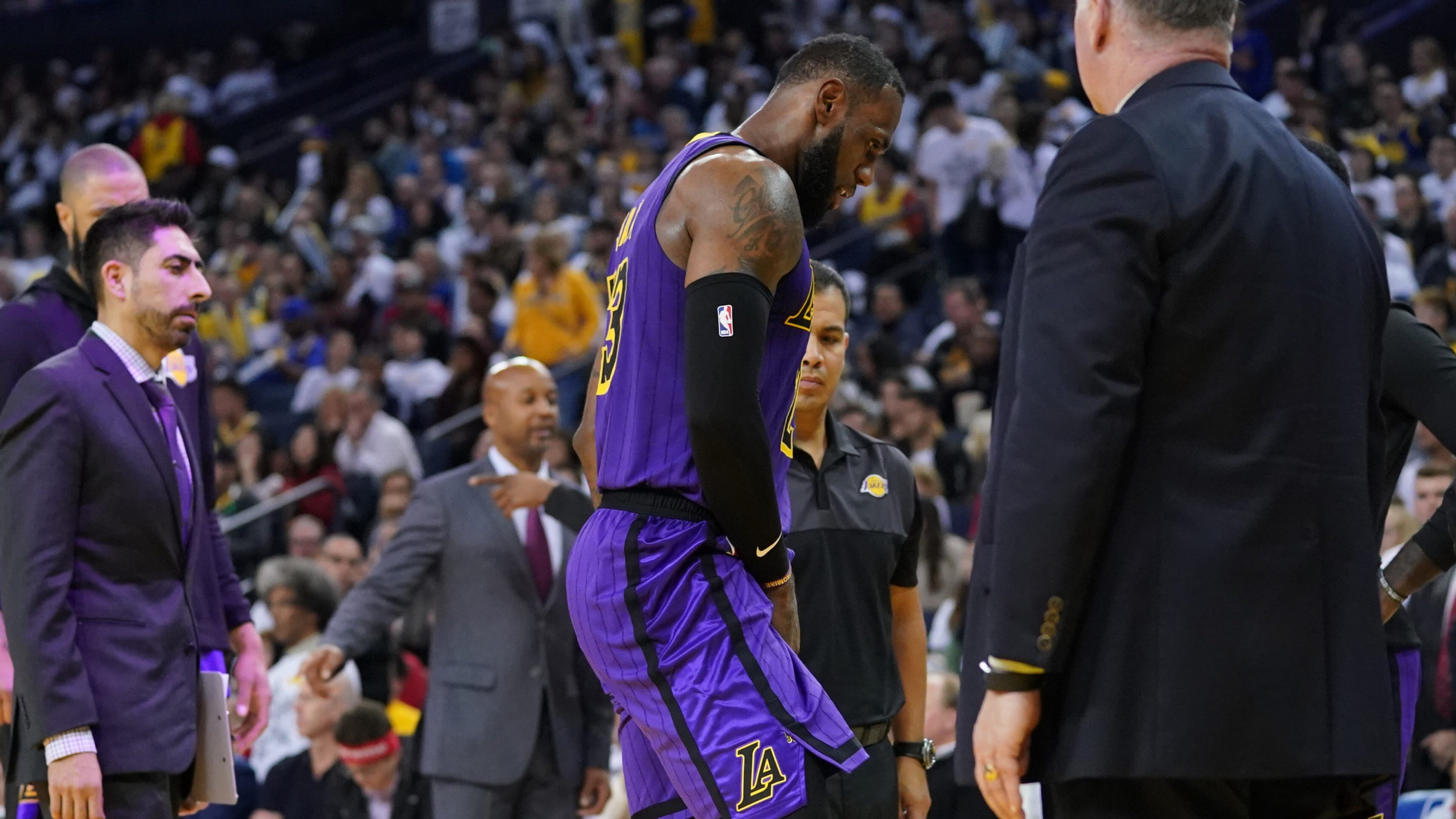 74bbe63c097 LeBron James injury  Lakers star rarely misses games because he s hurt