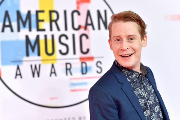 Macaulay Culkin attends the 2018 American Music Awards at Microsoft Theater on Oct. 9.