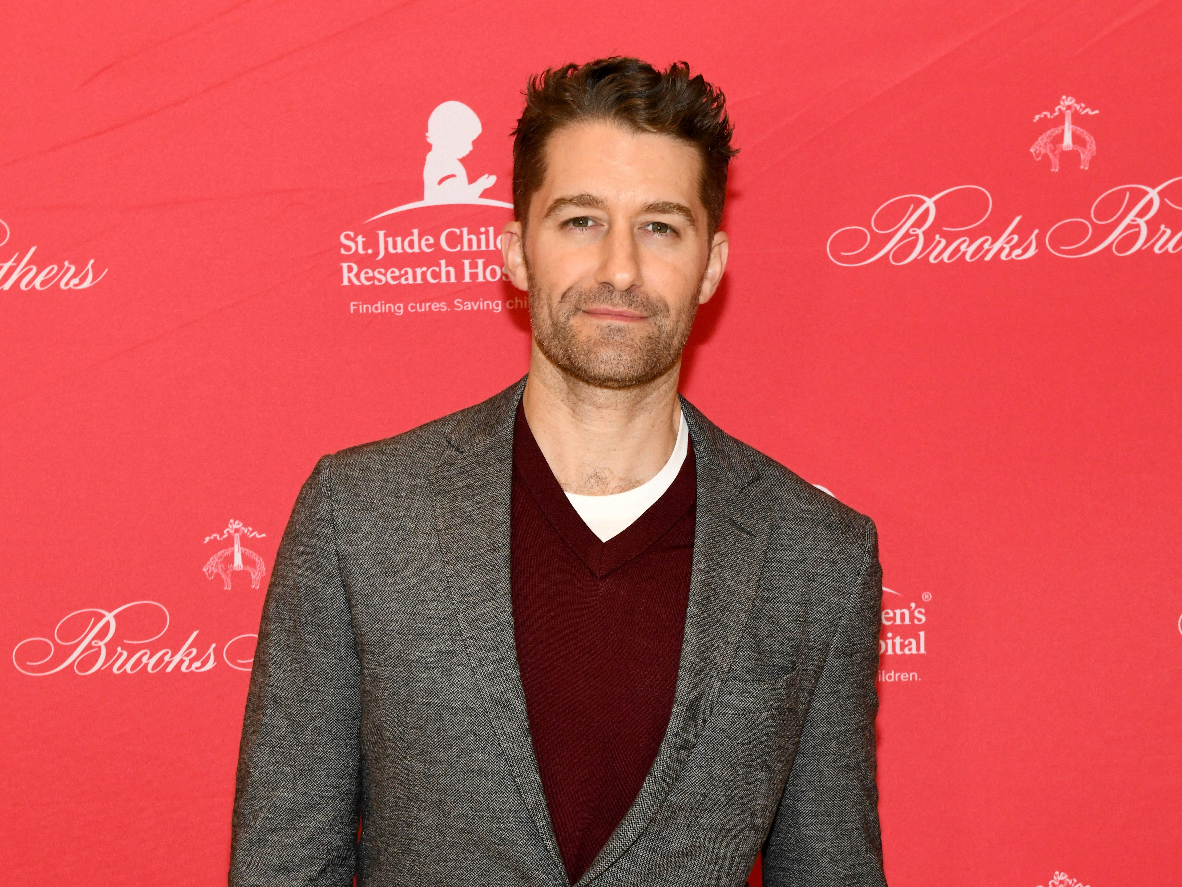 NEW YORK, NY - DECEMBER 18:  Matthew Morrison attends the Brooks Brothers And St Jude Children's Research Hospital Annual Holiday Celebration In New York City on December 18, 2018 in New York City.  (Photo by Craig Barritt/Getty Images for Brooks Brothers) ORG XMIT: 775269682 ORIG FILE ID: 1074382180