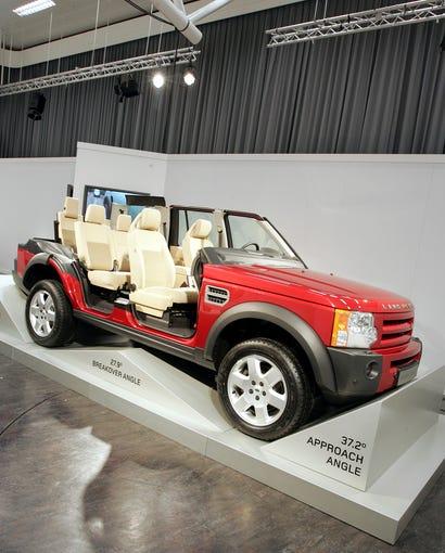 2008 Land Rover Lr2 Interior: Land Rover Through The Years