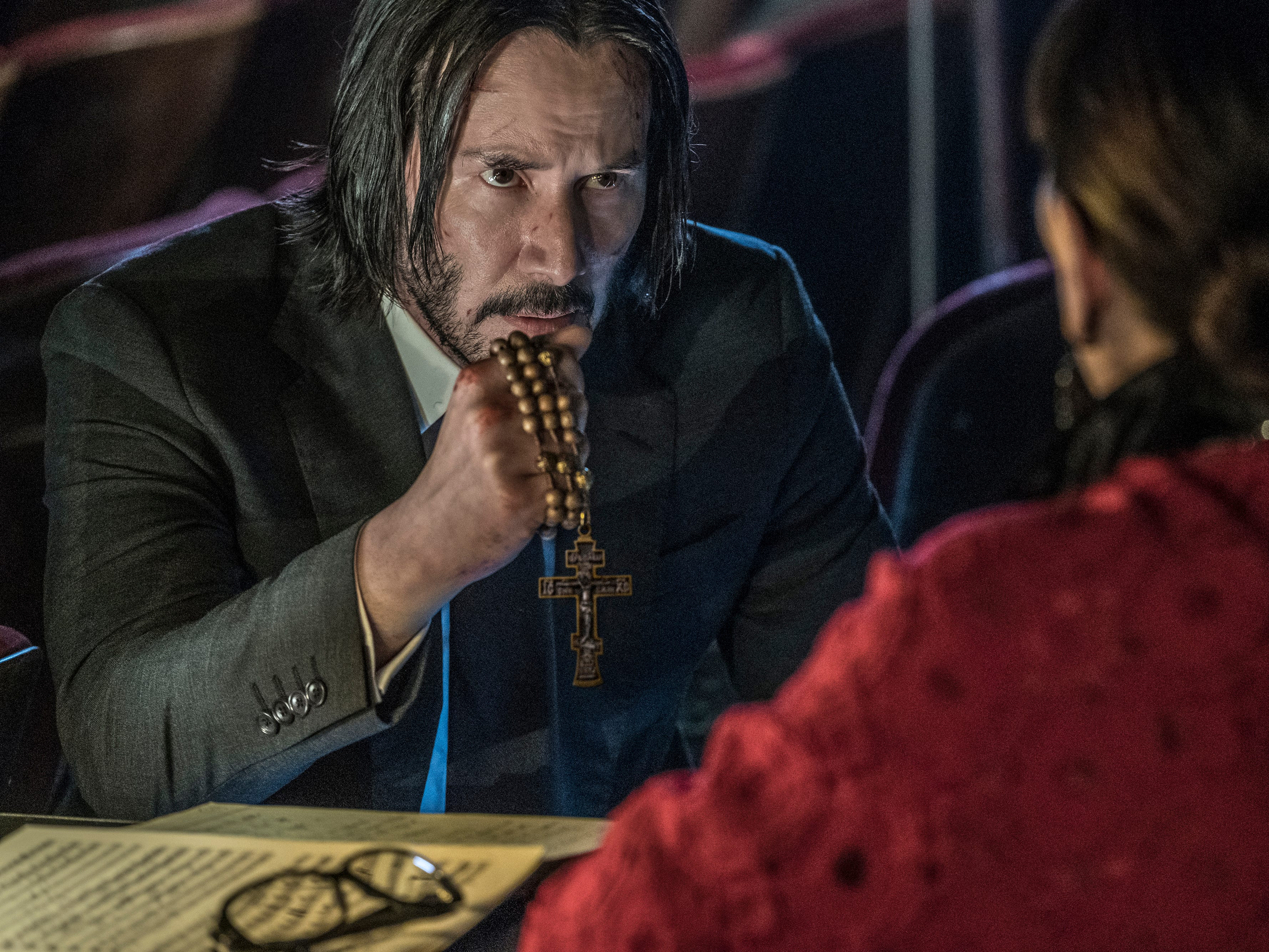 "Keanu Reeves' semi-retired assassin needs serious help when a global community of killers is out to get him in ""John Wick: Chapter 3."""