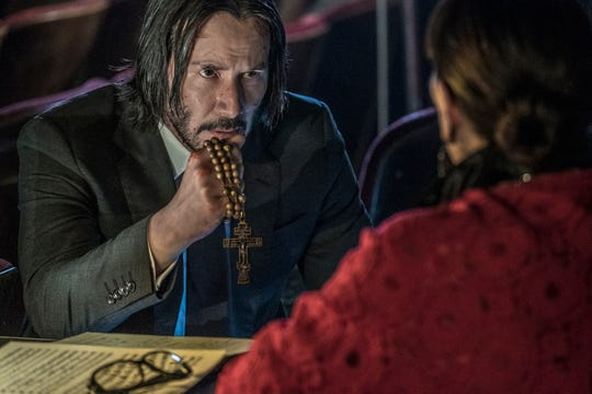 """Keanu Reeves' semi-retired assassin needs serious help when a global community of killers is out to get him in """"John Wick: Chapter 3."""""""