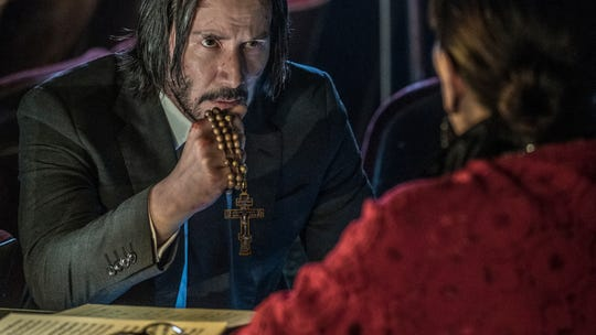 Globetrotting action abounds in Keanu Reeves' third 'John Wick' film