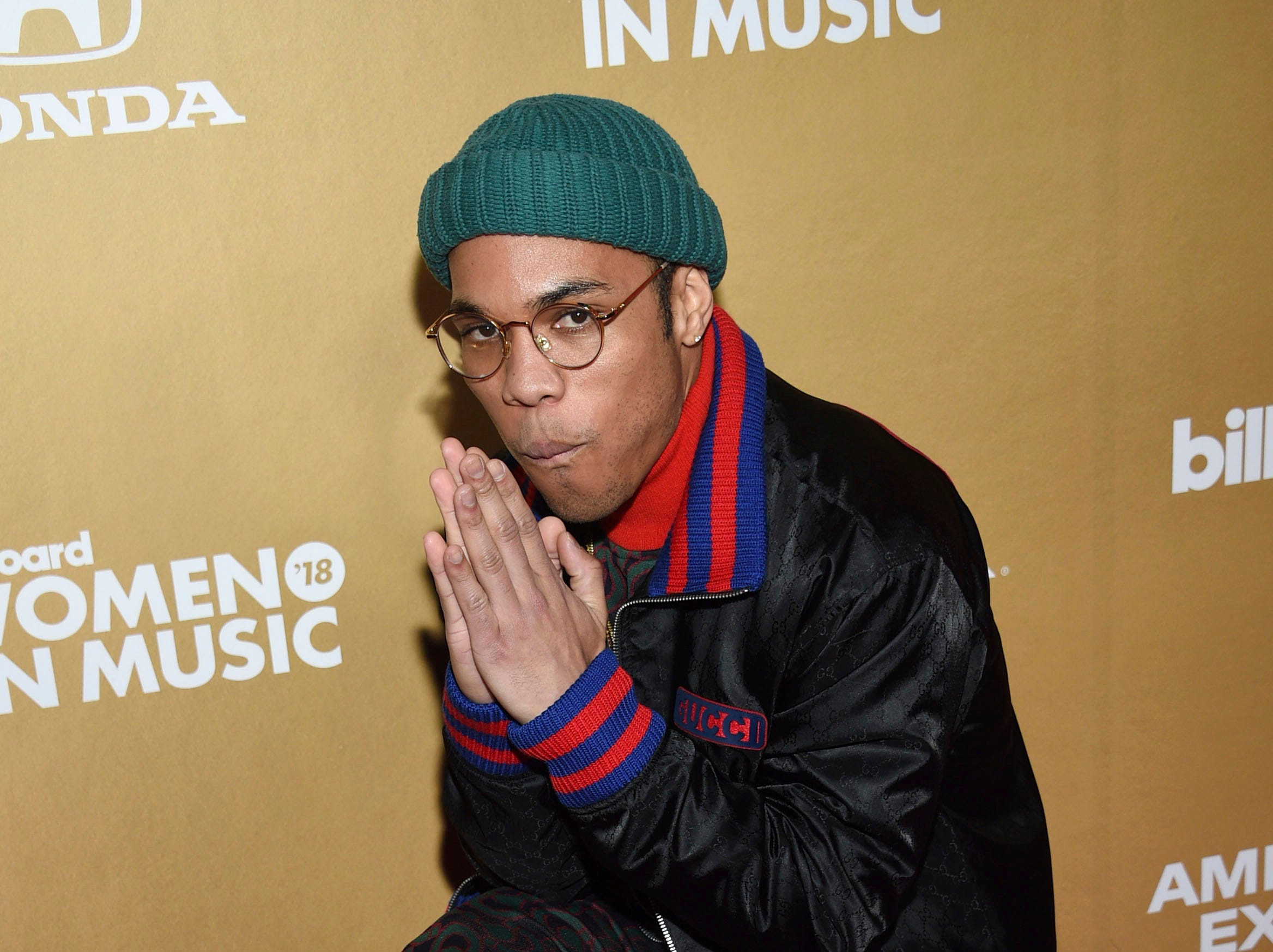 Anderson .Paak attends the 13th annual Billboard Women in Music event at Pier 36 on Thursday, Dec. 6, 2018, in New York. (Photo by Evan Agostini/Invision/AP) ORG XMIT: CABR105