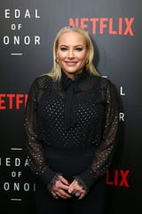 "Meghan McCain at the Netflix ""Medal of Honor"" screening and panel discussion on Nov. 13, 2018 in Washington, D.C."