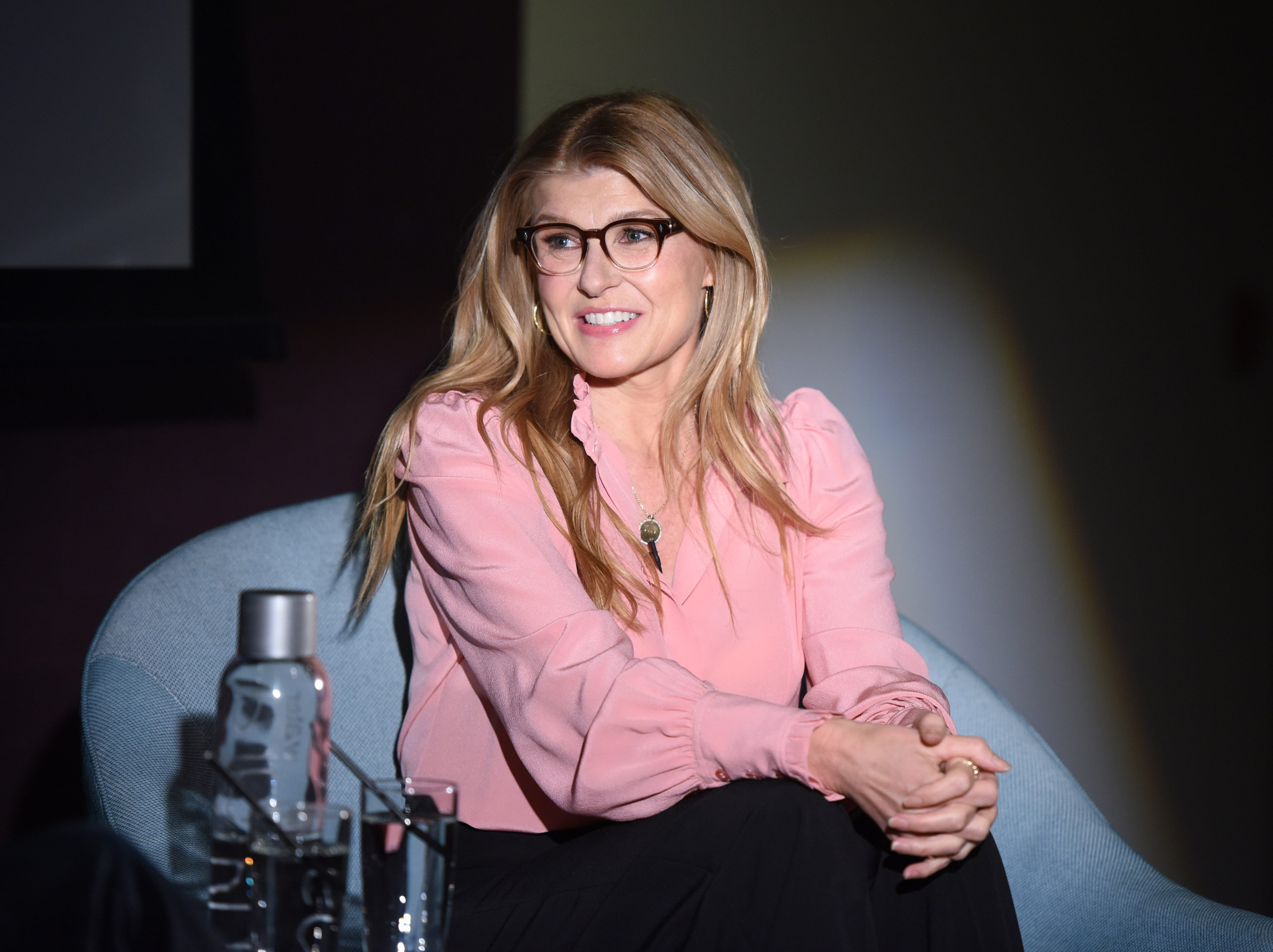 WEST HOLLYWOOD, CA - DECEMBER 17:  Connie Britton speaks at Tribeca Talks The Journey Inspired By TUMI With Nicole Holofcener And Connie Britton at Andaz West Hollywood on December 17, 2018 in West Hollywood, California.  (Photo by Vivien Killilea/Getty Images for Tribeca) ORG XMIT: 775271030 ORIG FILE ID: 1074346086