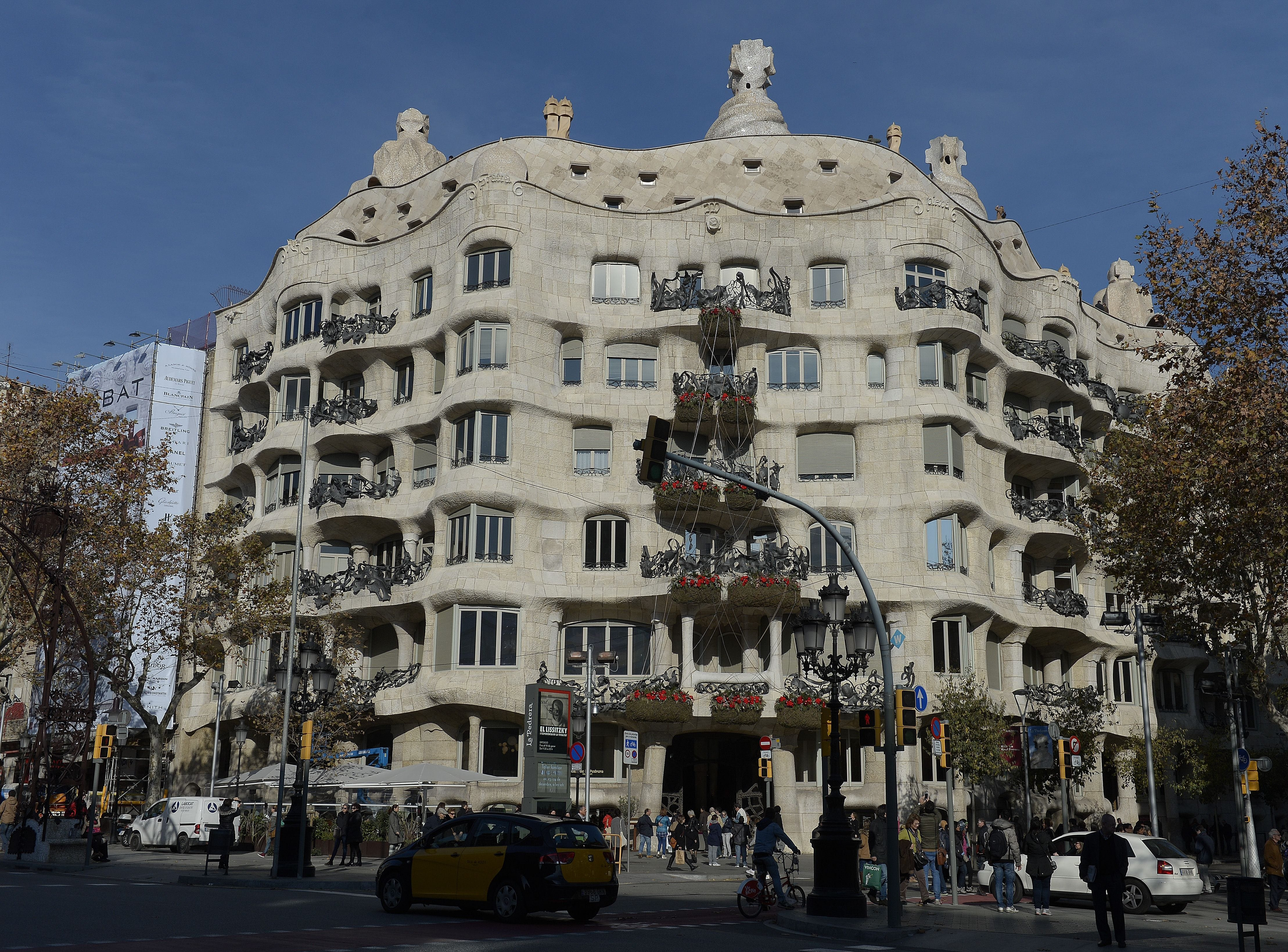 "One of American Express Travel's top trending international destinations for 2019 is Barcelona. The Spanish city is known for its architecture. Casa Mila or ""Pedrera""  (the stone quarry) is a modernist building by architect Antoni Gaudi. It was constructed between 1906 and 1912."