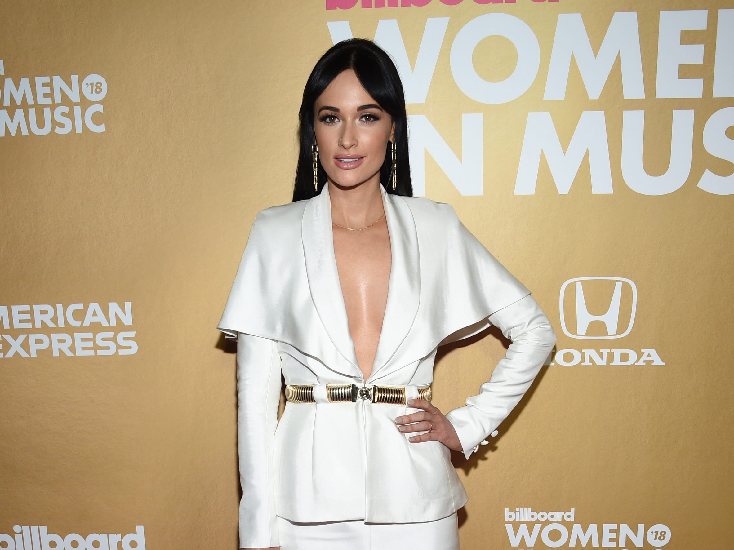 Kacey Musgraves attends the 13th annual Billboard Women in Music event at Pier 36 on Thursday, Dec. 6, 2018, in New York. (Photo by Evan Agostini/Invision/AP) ORG XMIT: NYAK101
