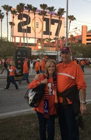 Nancy Godwin Volland, a Clemson alumna, considers herself a Clemson superfan.