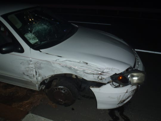 A Point Pleasant man is facing DWI and other charges after allegedly colliding with a Brick police cruiser, injuring a patrolman.