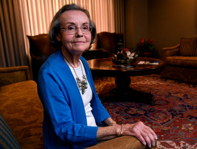 June Wideman has ended 35 years of service to First Financial Bank, and will be honored Thursday.