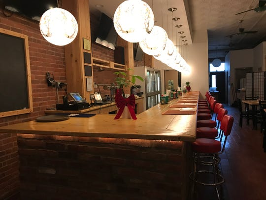 Nomikui Ramen in Downtown Binghamton contains both a bar and dining area.
