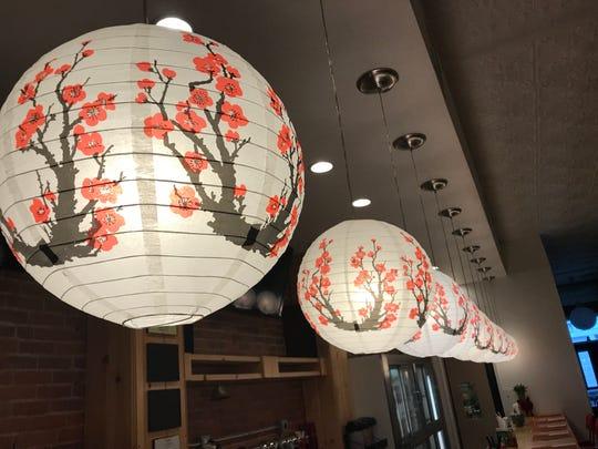 Nomikui Ramen in Downtown Binghamton features Asian and Japaense inspired decor.