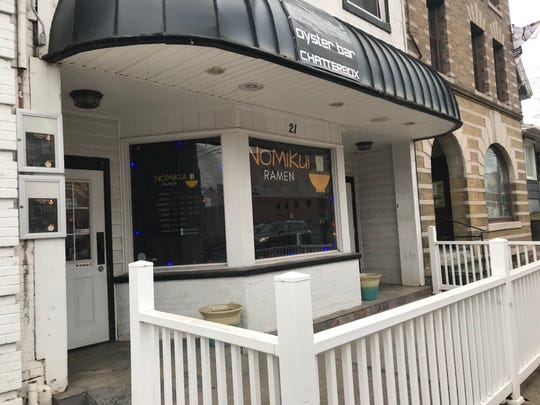 Nomikui Ramen occupies the space that previously housed The Chatterbox in Downtown Binghamton.