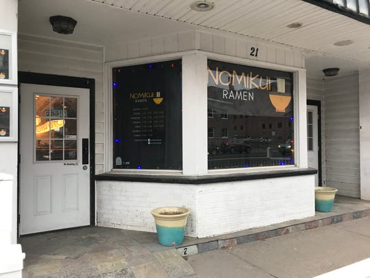 Nomikui Ramen, located on 21 Main Street in Binghamton, occupies the space that previously housed The Chatterbox.