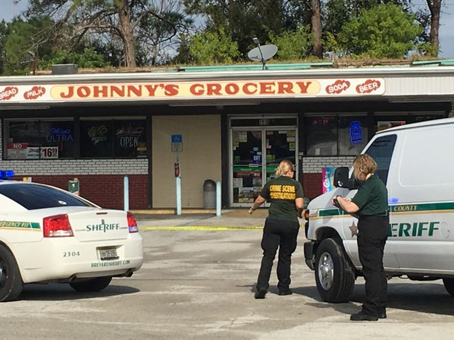 The Brevard County Sheriff's Office is investigating a crime at Johnny's Grocery