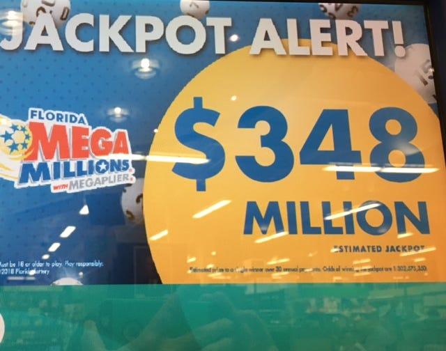 Mega Millions rises to $348 million for Friday, Dec. 28