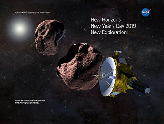 nasa turns lights back on for new horizons mission to ultima thule