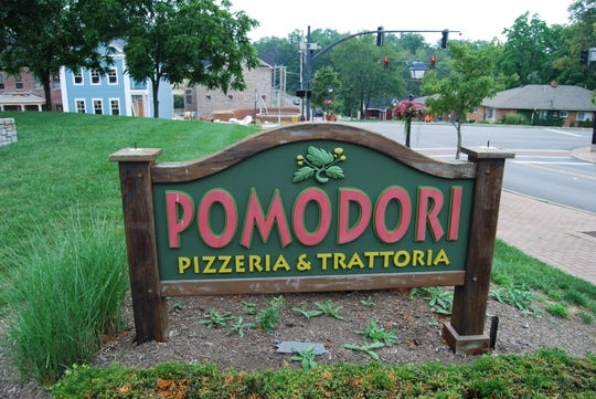 Pomodori Pizza in Montgomery. It closed in 2018