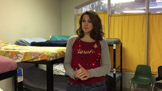 """Entering its 10th year, the Emergency Shelter of Northern Kentucky is averaging about 76 guests a night. """"We are always over capacity, always,"""" says executive director Kim Webb, Dec. 21, 2018."""