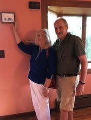 Theresa and Robert Donnelly in their home on Goodyear Lake, Susquehanna River in Milford, New York.
