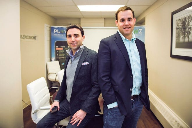 Syracuse University graduates Andrew Englander and Wills Mahoney founded Plowz & Mowz in Manlius in 2013.