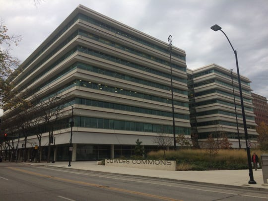 Capital Square, at 400 Locust St., is the third-largest multitenant office building in downtown Des Moines.