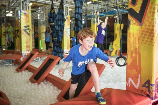 "Urban Air Adventure Park in Ankeny will feature an ""American Ninja Warrior""-style course above a ball pit."