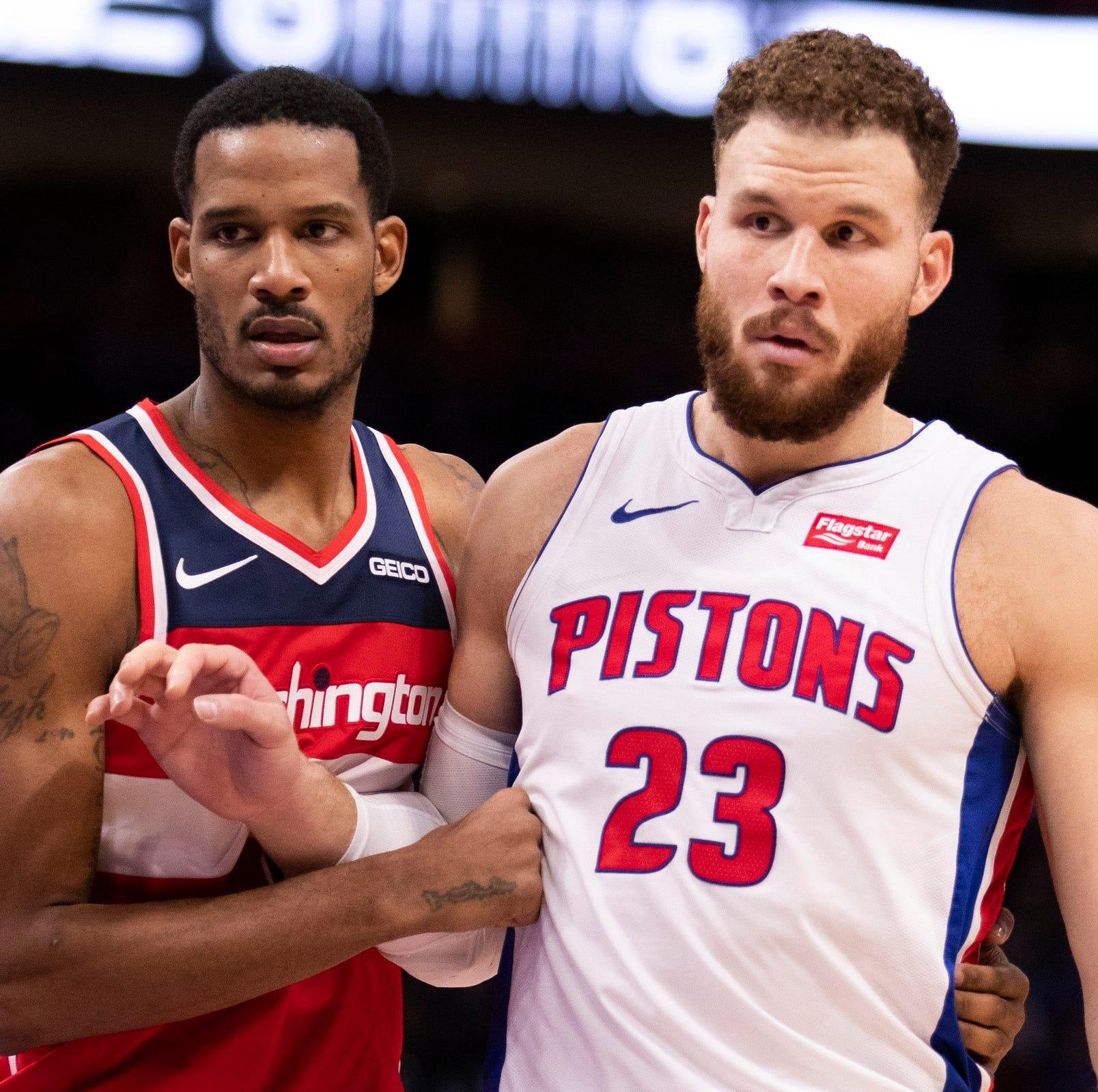 Detroit Pistons visit Washington without Andre Drummond, Ish Smith