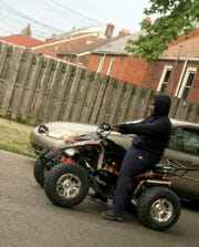 A  photo Damon Grimes on his ATV was taken one day before he died on August 26, 2017.