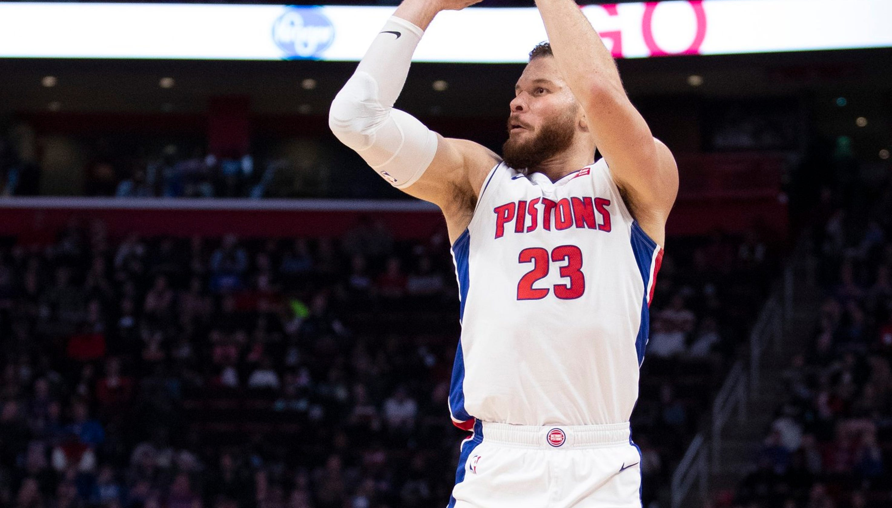 Detroit Pistons aim to use Blake Griffin less to get the most from him 45b621bed2c