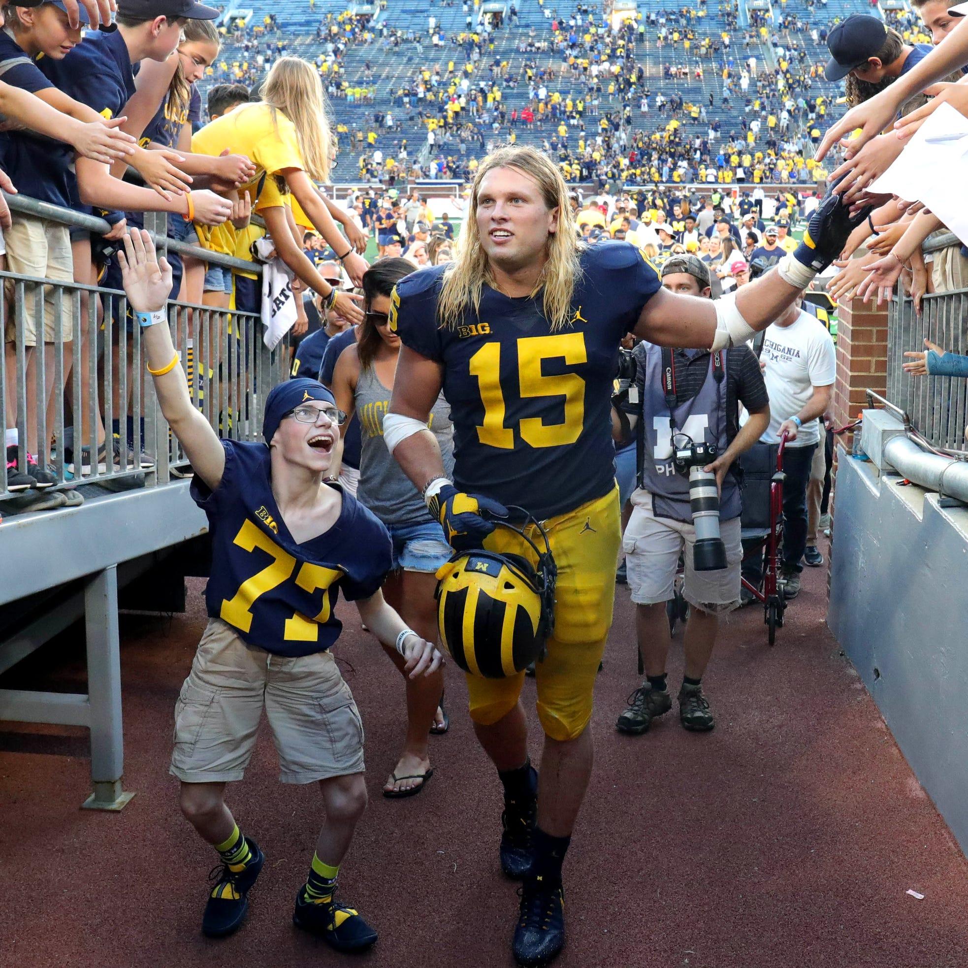Michigan football's Chase Winovich to miss Senior Bowl with injury