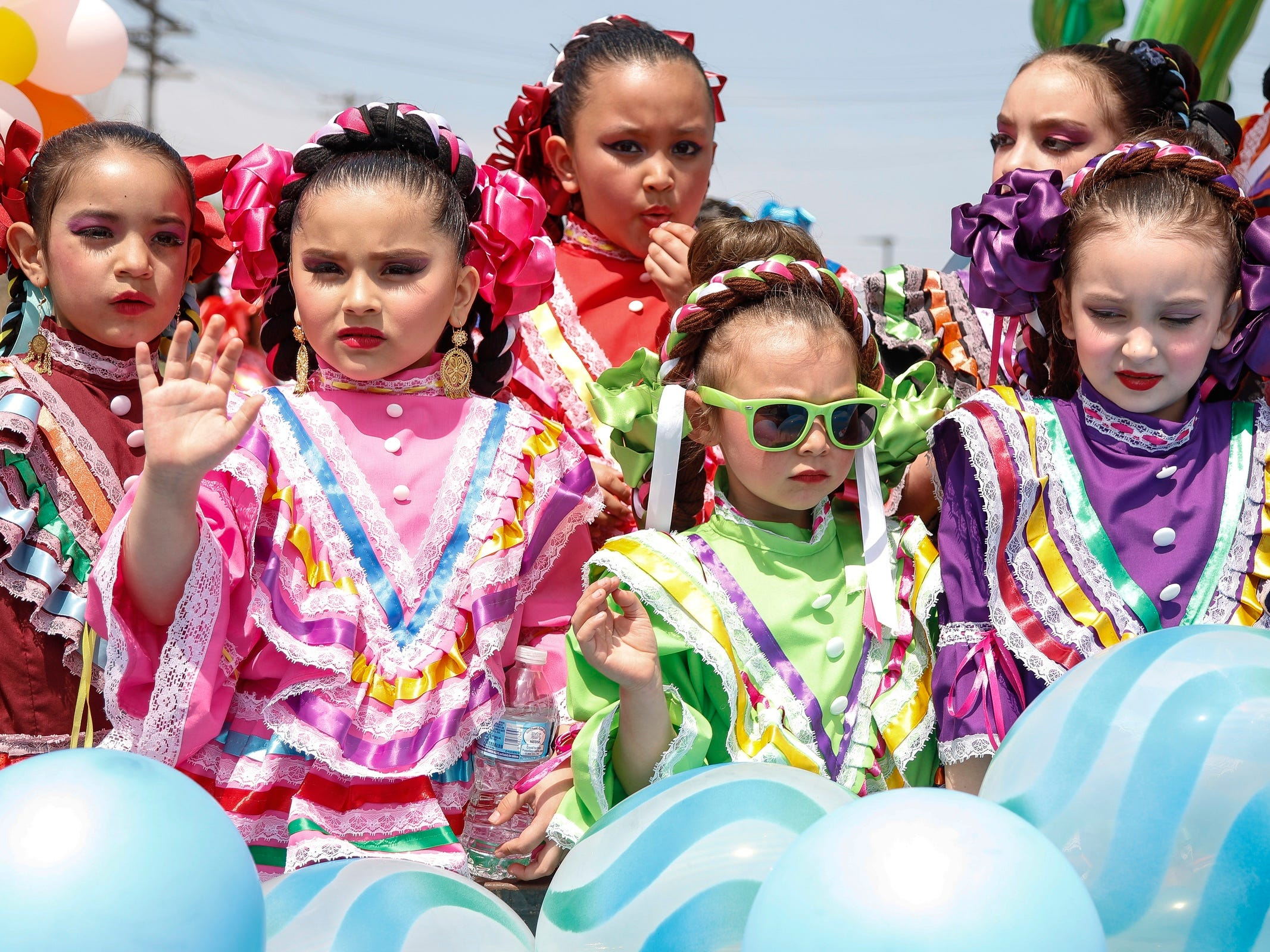 Thousands attended the annual Cinco de Mayo parade on Vernor Highway in Southwest Detroit, Sunday, May 6, 2018.