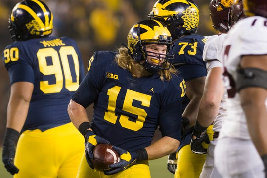 "Michigan defensive lineman Chase Winovich says the Peach Bowl is a ""must-win"" game for the Wolverines."