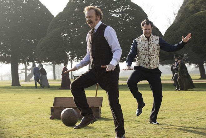 """John C. Reilly and Will Ferrell in """"Holmes & Watson."""" (Columbia Pictures)"""