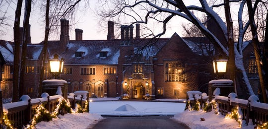 Meadow Brook Hall placed third in USA Today's 10 Best Holiday Historic Home Tour Reader's Choice poll.
