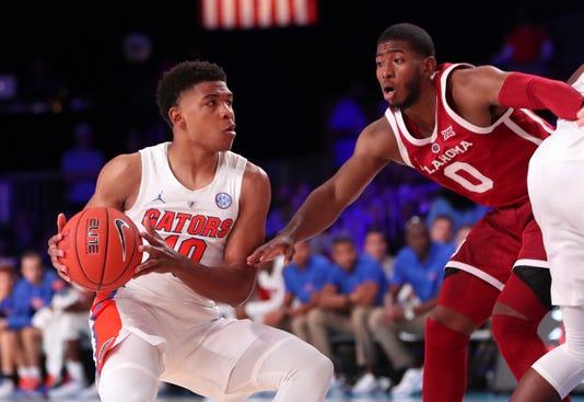 Ncaa Basketball Battle 4 Atlantis Oklahoma Vs Florida