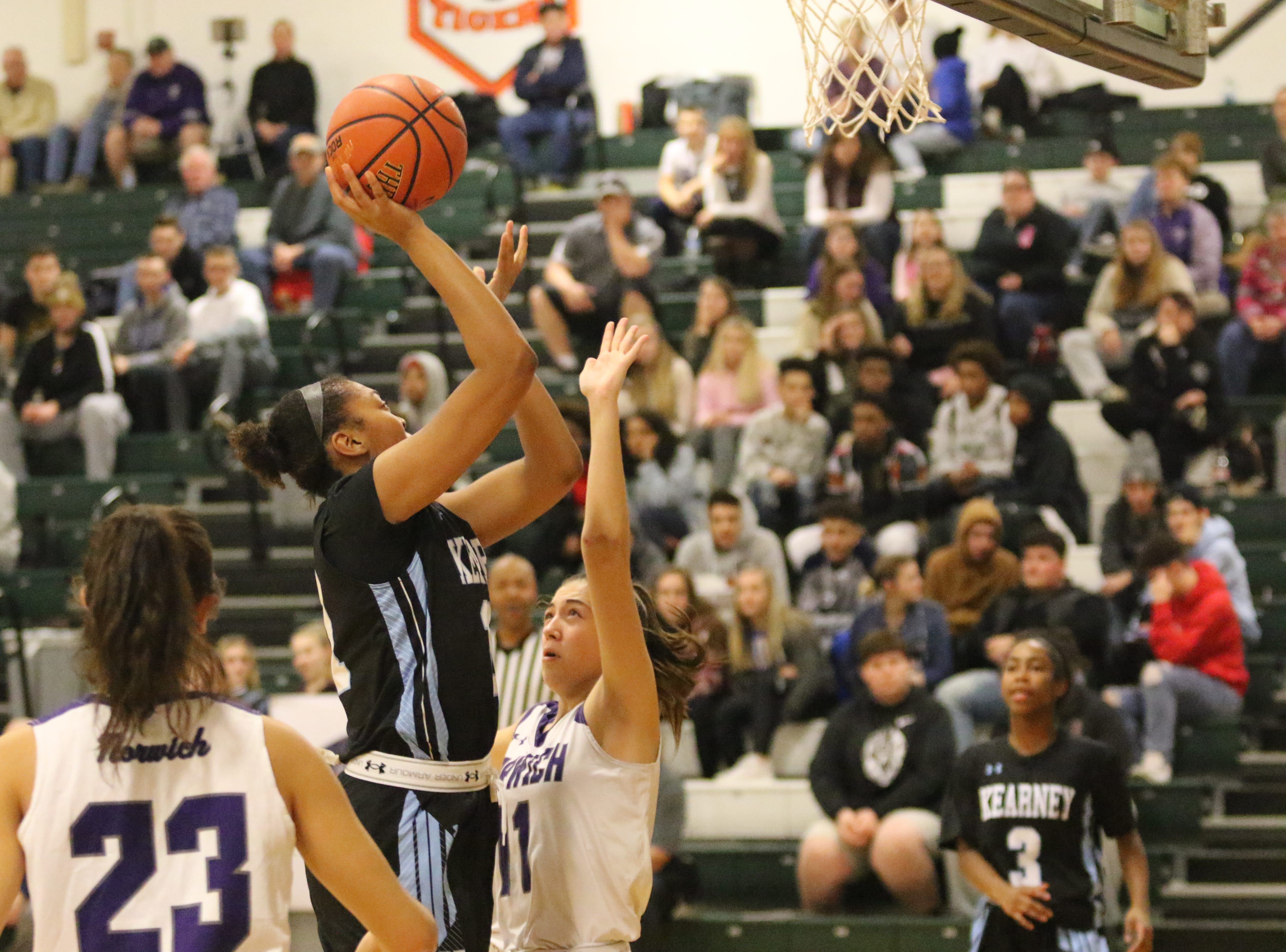 Bishop Kearney was a 72-38 winner over Norwich in a girls quarterfinal at the Josh Palmer Fund Elmira Holiday Inn Classic on Dec. 27, 2018 at Elmira High School.